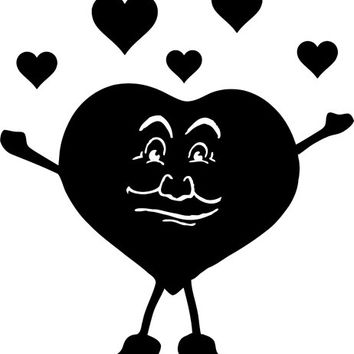 love heart man clipart png clip art Digital image download graphics printable art romance relationships  black heart
