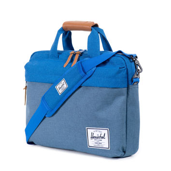 Herschel Supply Co.: Clark Messenger Bag - Cobalt Crosshatch - Cobalt Crosshatch / One