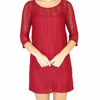 Jack By BB Dakota Jonah Lace Dress