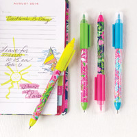 Lilly Pulitzer Pen and Highlighter Set