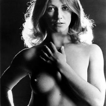 Behind The Green Door Marilyn Chambers Nude poster Metal Sign Wall Art 8in x 12in