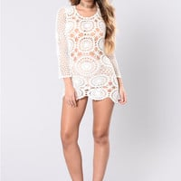 My Sweet Escape Dress - Ivory