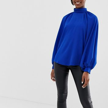 ASOS DESIGN Tall high neck top with long sleeve | ASOS