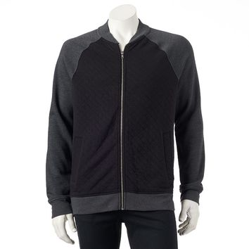 Urban Pipeline Knit Varsity Quilted Jacket - Big & Tall, Size: