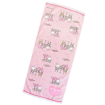 Buy Sanrio My Melody Sweets Parlour Hand Towel with Glitter Trim at ARTBOX