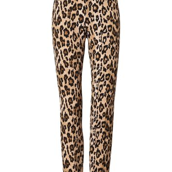 Ryan Slim Straight-Fit Animal Print Pant|banana-republic