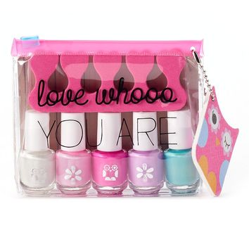 Simple Pleasures 5-pc. ''Love Whooo You Are'' Nail Polish Gift Set (Pink)