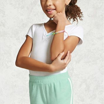 Girls French Terry Shorts (Kids)