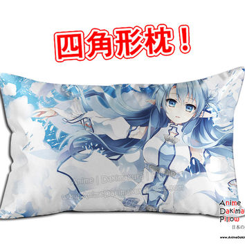 New Asuna Yuuki - Sword Art Online Anime Dakimakura 45 x 75cm Rectangle Pillow Cover GZFONG466