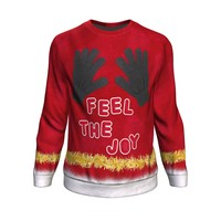 Feel The Joy Ugly Christmas Sweatshirt