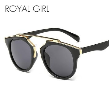 ROYAL GIRL Women Sunglasses Round Shades Cat Eye Glasses ss206