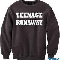 Teenage Runaways Crewneck