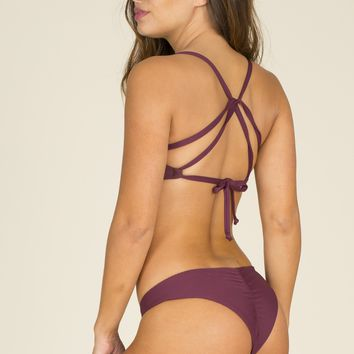 Boys & Arrows - Clairee Bottom | Burgundy