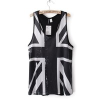 Trendy Union Jack Pattern Vest