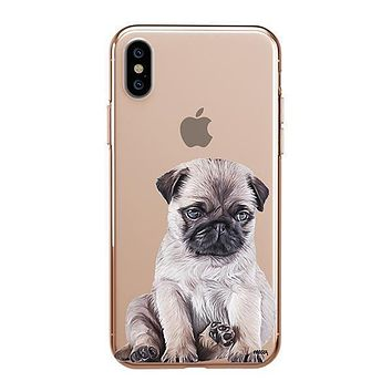 Baby Pug - iPhone Clear Case