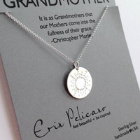 Erin Pelicano Grandmother Necklace