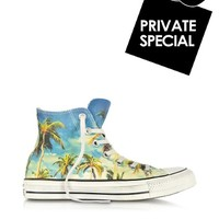 Converse Limited Edition Designer Shoes Chuck Taylor All Star Hi-Ox Graphic Tropical Print Sneaker