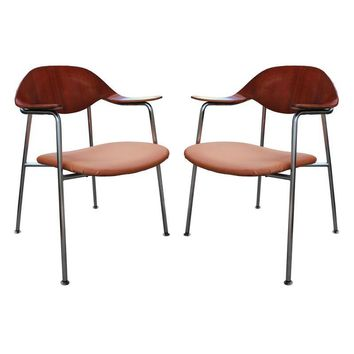 Pre-owned Rare Plycraft Chairs Attrib. George Mulhauser