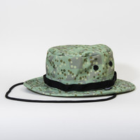 Grizzly Splash Camo Safari Hat in Grizzland