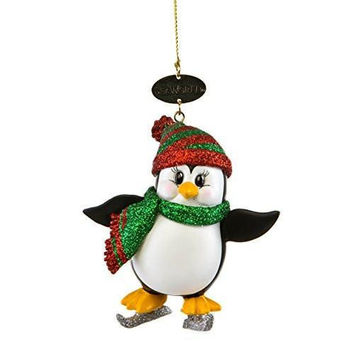 SeaWorld Penguin with Ice Skates Christmas Ornament New with Tag