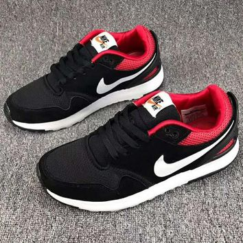 NIKE AIR Vibenna Trending Fashion Casual Men Sports Shoes Red Black G-CSXY
