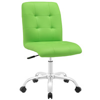 Prim Mid Back Office Chair in Bright Green