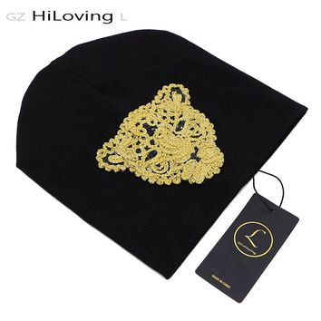 GZHiLovingL Cool Design Spring Sequins Baby Hats Autumn Winter Soft Cotton Beanies For Baby Girls Boys Kids Lovely Hats INS Hot
