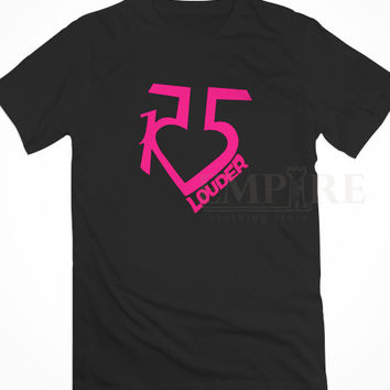 R5 Louder Band Logo Unisex/Men Tshirt All Size