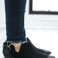 Miss Reliable Booties - Black