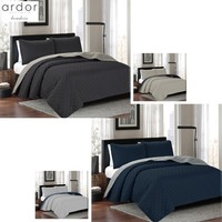 3 Piece Kingston Reversible Coverlet Set Queen/King by Ardor