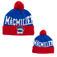 Mac Miller Official Store | Mac Miller Blue/Red Beanie