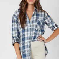 Plaid Out Button Down