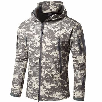 Tactical Jackets Army Camouflage Coat Military Jacket Waterproof Windbreaker Raincoat Outdoors Clothes TAD V4.0 Jackets