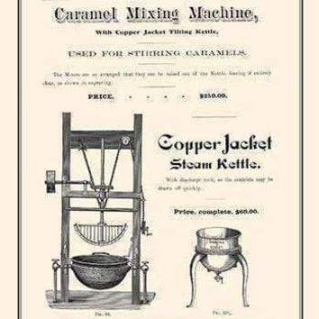 Copper Jacket Steam Kettle (Paper Poster)