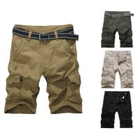 Men's Summer Cargo Shorts