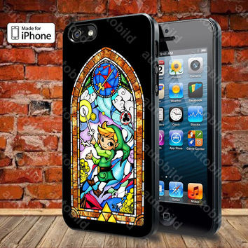 The Legend Of Zelda 06 Case For iPhone 5, 5S, 5C, 4, 4S and Samsung Galaxy S3, S4
