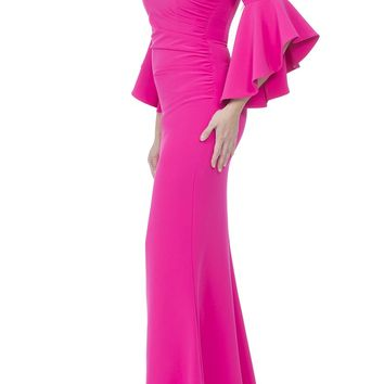 Lindsay Dress - Hot Pink