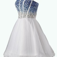 Dresstells Sweetheart Dresses Homecoming Dresses Blue Dresses