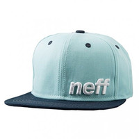 neff Men's Daily Snapback Hat, Sky Navy, One Size
