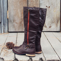 Flint Smoke Riding Boots