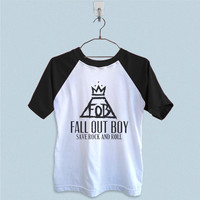 Raglan T-Shirt - Fall Out Boy Save Rock and Roll