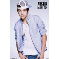 Austin Mahone - Doorway Music Poster 22 x 34in