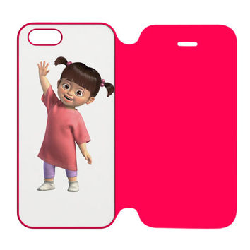 Disney Mickey Mouse, Pluto and Minnie Mouse as Babies iPhone 5 | 5S Flip Case Cover