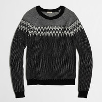 Factory Fair Isle sweater : crewnecks & boatnecks | J.Crew Factory
