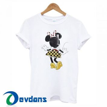 Minnie Mouse T Shirt For Women and Men Size S - 3XL