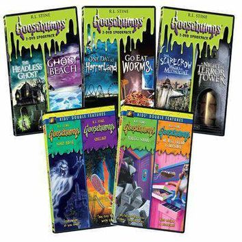 Goosebumps DVD Complete Double Pack Collection
