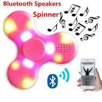 2017 MINI Bluetooth Speaker Music Fidget Spinner Hand Spinner For Autism And Kids/Adult Funny Fidget