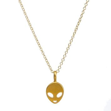 Shiny Jewelry Stylish New Arrival Gift Lock Gold Korean Alloy Necklace [11972225487]