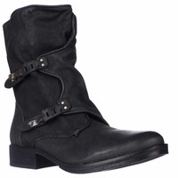 Sam Edelman Ridge Casual Ankle Boots - Black