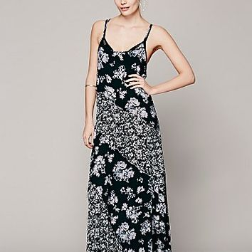 Intimately Womens Love Me Loves Me Not Maxi - Black